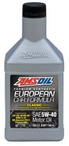AMSOIL 5W-40 European Car Formula