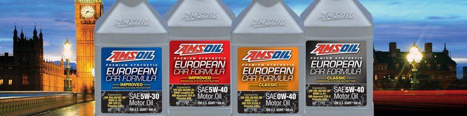 AMSOIL European Engine Oil